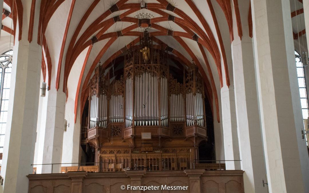 Orgel in der Thomaskirche