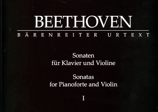 Beethovens Violinsonaten in Urtextausgabe