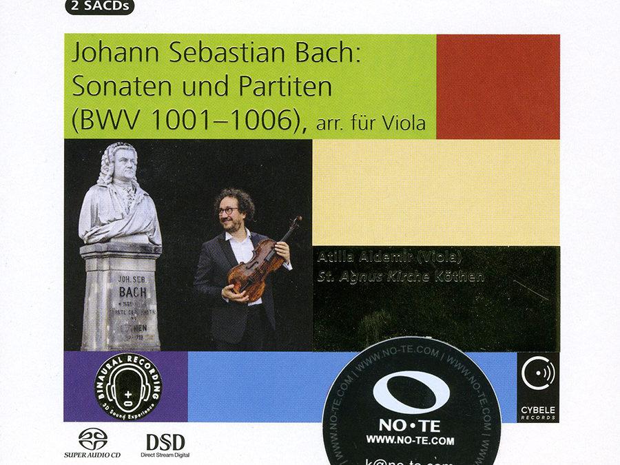 Bachs Violin-Solosonaten auf der Viola gespielt: luzid bis impressionistisch